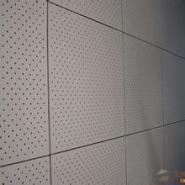 无锡石膏硅酸钙穿孔吸音板图片