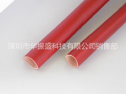 供应用于保护,绝缘的硅树脂玻璃纤维套管