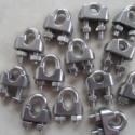江苏不锈钢卡头厂家直销 不锈钢卡头 不锈钢夹头 钢丝绳夹