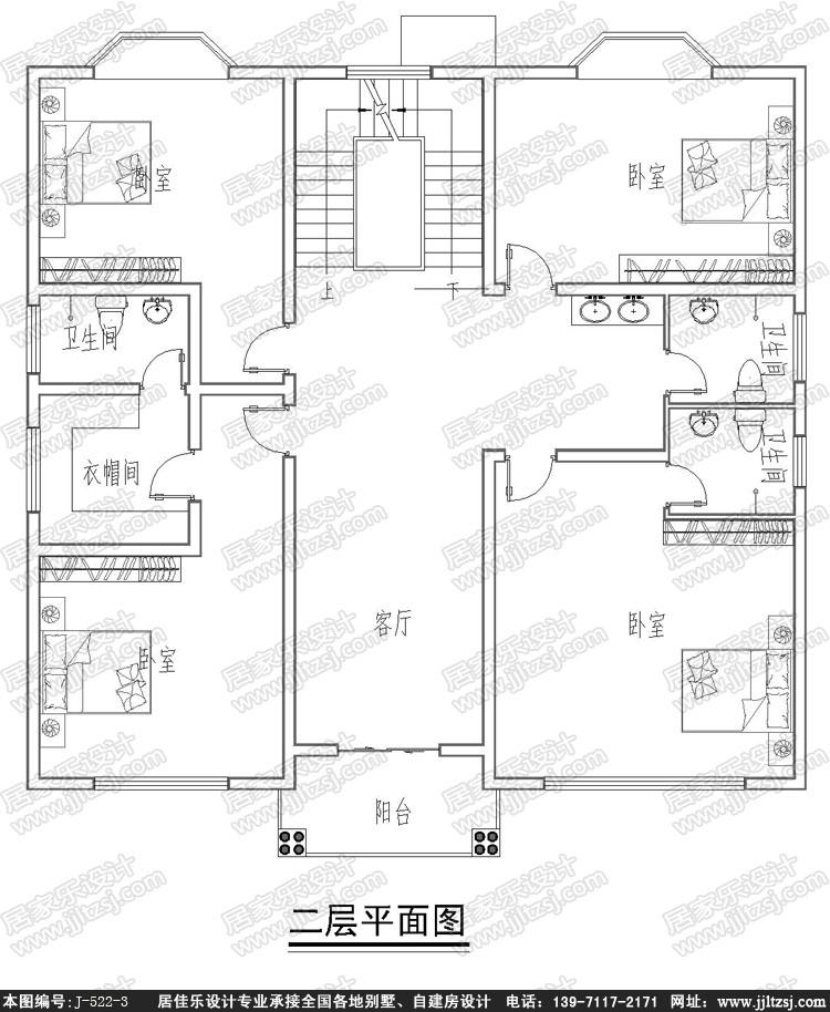 190平米简欧三层小别墅设计图报价