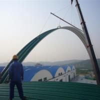 供应拱形屋顶厂家|无梁金属波纹屋面拱形屋顶|拱形屋顶价格
