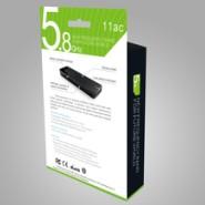 供应USB无线网卡 ZF-6B06 11AC无线网卡/433MBPS/5.8G双频段无线网卡
