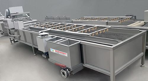 供应山东艾斯科土豆蔬菜清洗机生产厂家