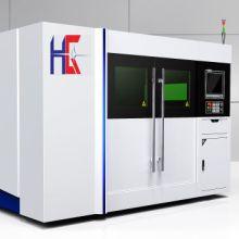供应用于金属切割的悍光光纤激光切割机HG3015F图片
