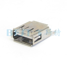 USB插座_USB插座型号_USB连接器图片