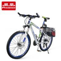 凤凰山地车自行车27速禧玛诺铝合