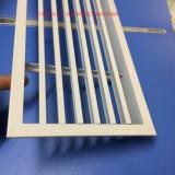 广东格栅式铝出风口加工厂  防火格栅式铝出风口 优质格栅式出风口效果图