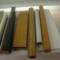 铝圆管,广州木纹铝圆管厂家