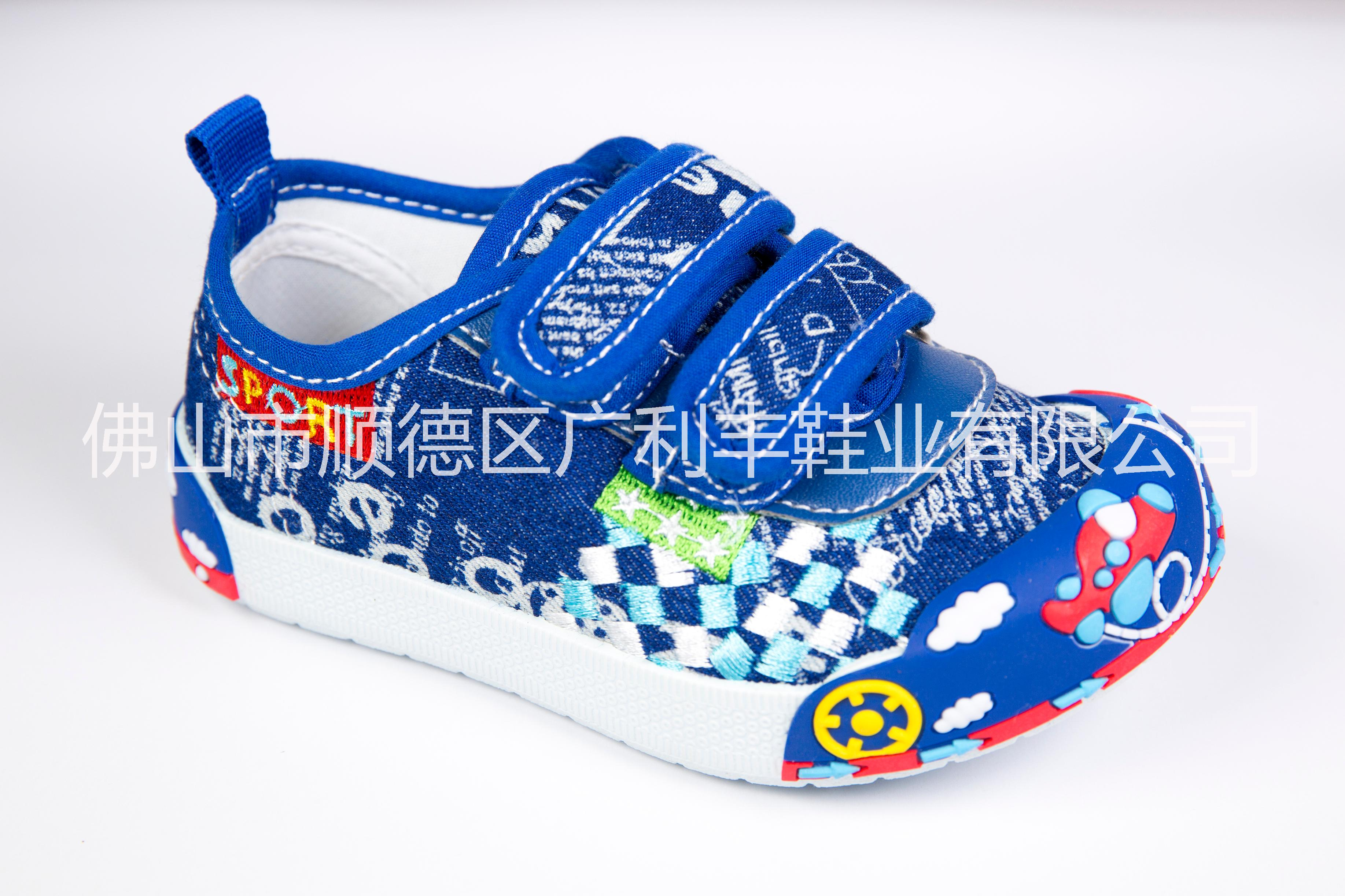 新款儿童帆布鞋批发、男女童鞋