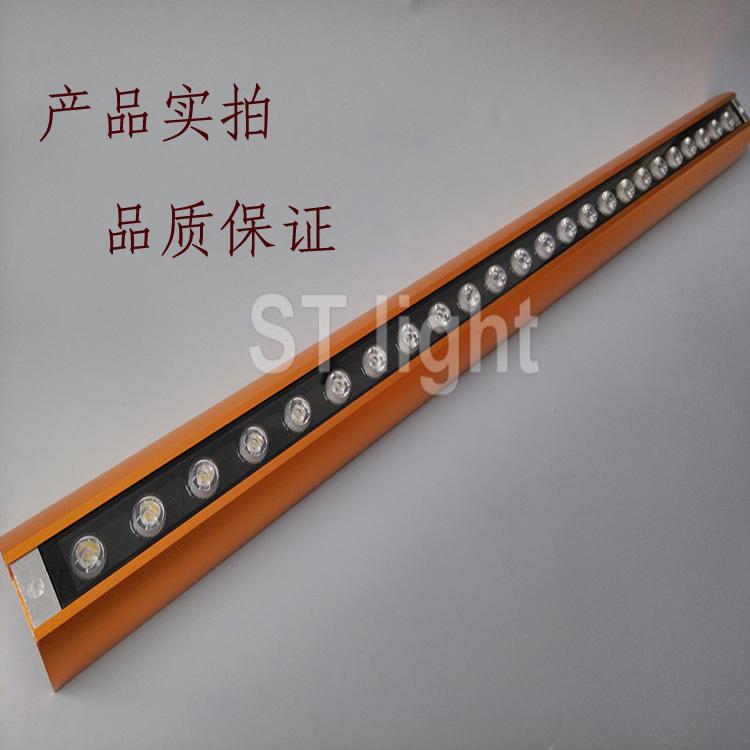 厂家供应fl-dx-24w金色洗墙灯 户外防水led条形灯