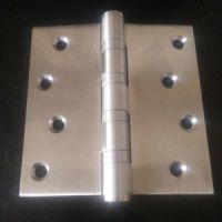 揭阳304不锈钢平开合页4寸 木门专用 静音轴承门铰厂家批发