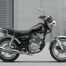 供应豪爵铃木HJ125-8E太子摩托车跑车批发