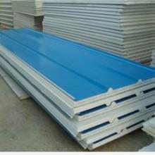 供应用于钢构屋面材料的广东广州铝合金压型瓦琉璃瓦夹芯板批发