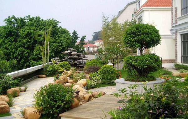私家花园图片 私家花园样板图