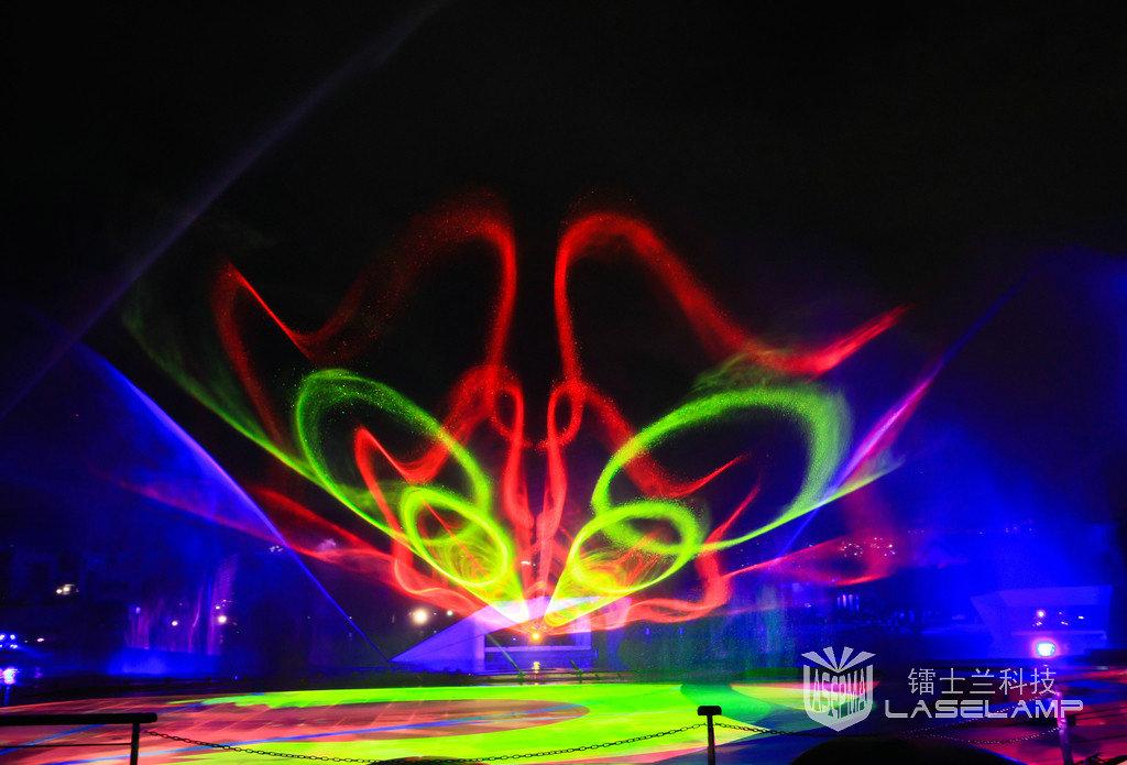 供应镭士兰激光灯, 激光水幕电影,音乐喷泉