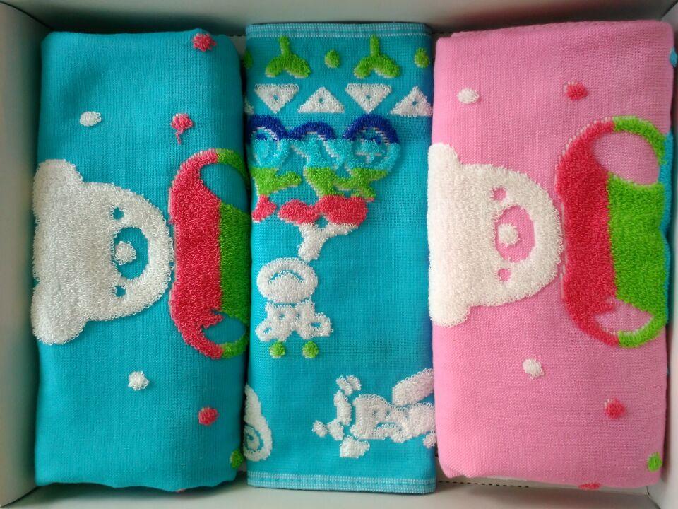 卡通礼品毛巾儿童礼品毛巾销售