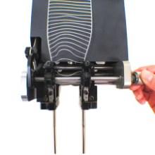 供应用于产品包装的弹性胶钉机 vns胶针机 玩具五金背卡固定 针距可调 绑板机