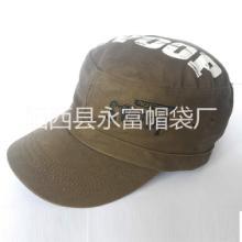 供应平顶帽 时装军帽 时尚休闲帽