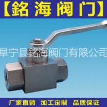 供应Q11N-320P高压内螺纹球阀CNG专用銘海阀门图片