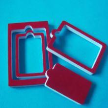 供应用于包装类的泡棉复绒布内衬定位包装