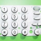 供应硅胶计算机按键 铭锐遥控器按键 硅胶导电按键 硅胶电话机按键 游戏机按键 硅胶按键开模定制 按键加工 可来图定制