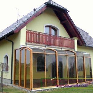邸墅建筑別墅落地固定玻璃窗圖片