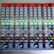 硅胶遥控器导电按键图片