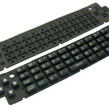 供应硅胶电脑键盘按键硅胶软键盘电子配件笔记本按键工业用橡胶制品批发