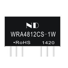 供应用于仪器仪表的48V转正负12V广州能达电源降压IC,WRA4812CS-1W厂家供货图片