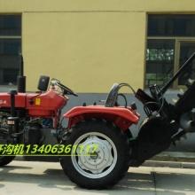 供应用于自来水管开沟的拖拉机链式式开沟机批发
