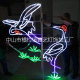 中山鑫藝燈飾供應LED燈桿裝飾節節高圖案造型燈 批發供應LED節節高圖案造型燈 批發供應LED仙鶴圖案造型燈