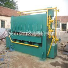 鸿程600T型快速贴面热压机大吨位拼板热压机批发