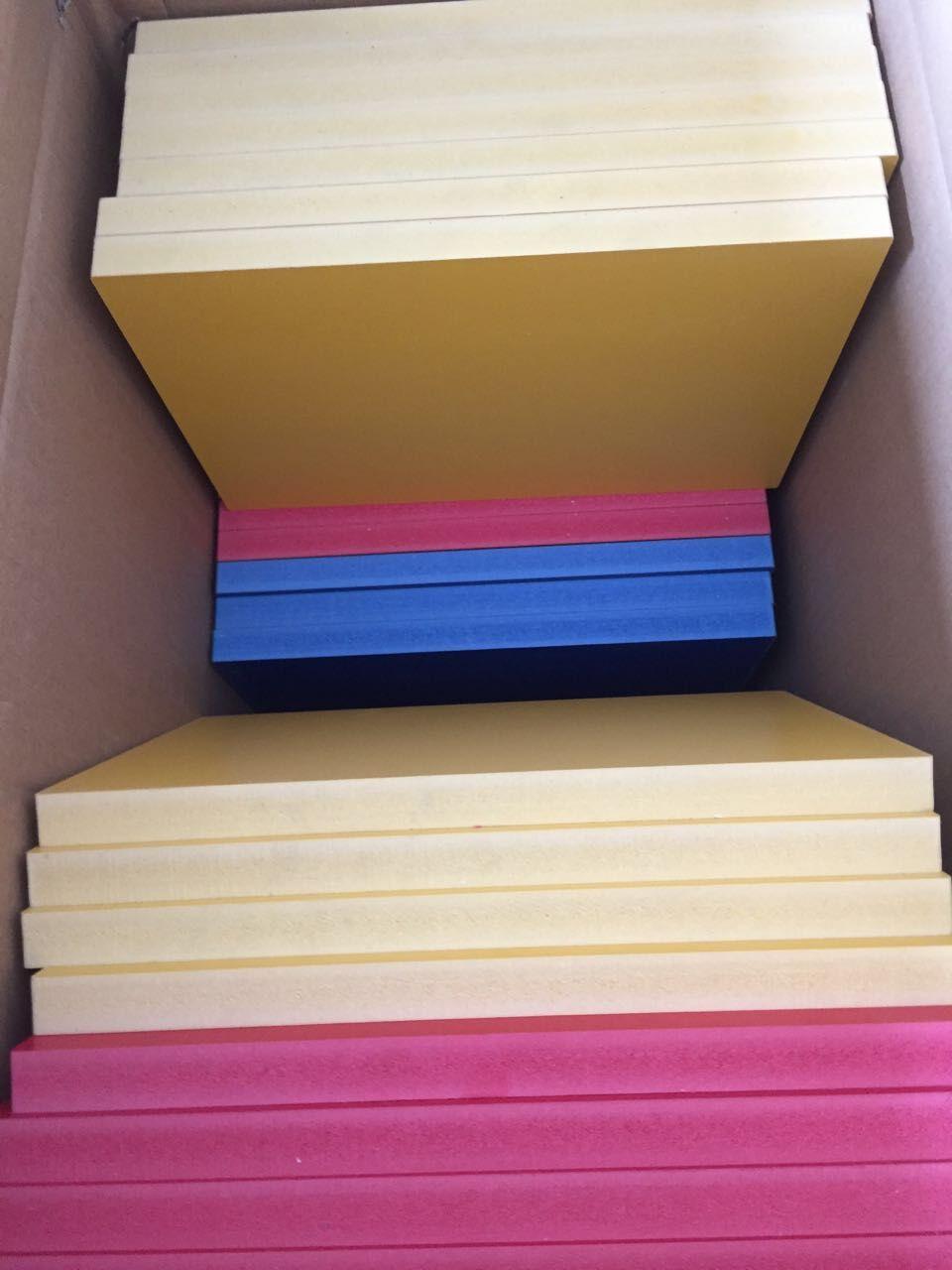 pvc彩色发泡板 大量现销售