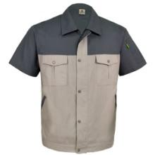 威海夏季短袖工作服订做批发