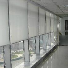 供应用于办公升降卷帘的拉珠式卷帘窗帘拉帘全遮光遮阳窗帘定做安装批发