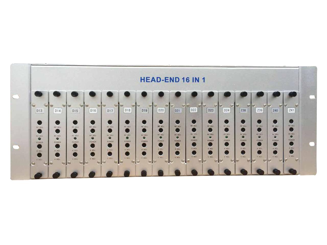 供应16路插拔式邻频调制器,插拔式调制器,广播级机顶盒共享器