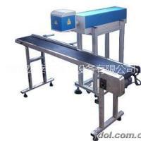 供应用于食品行业 矿泉水的激光喷码机打码机