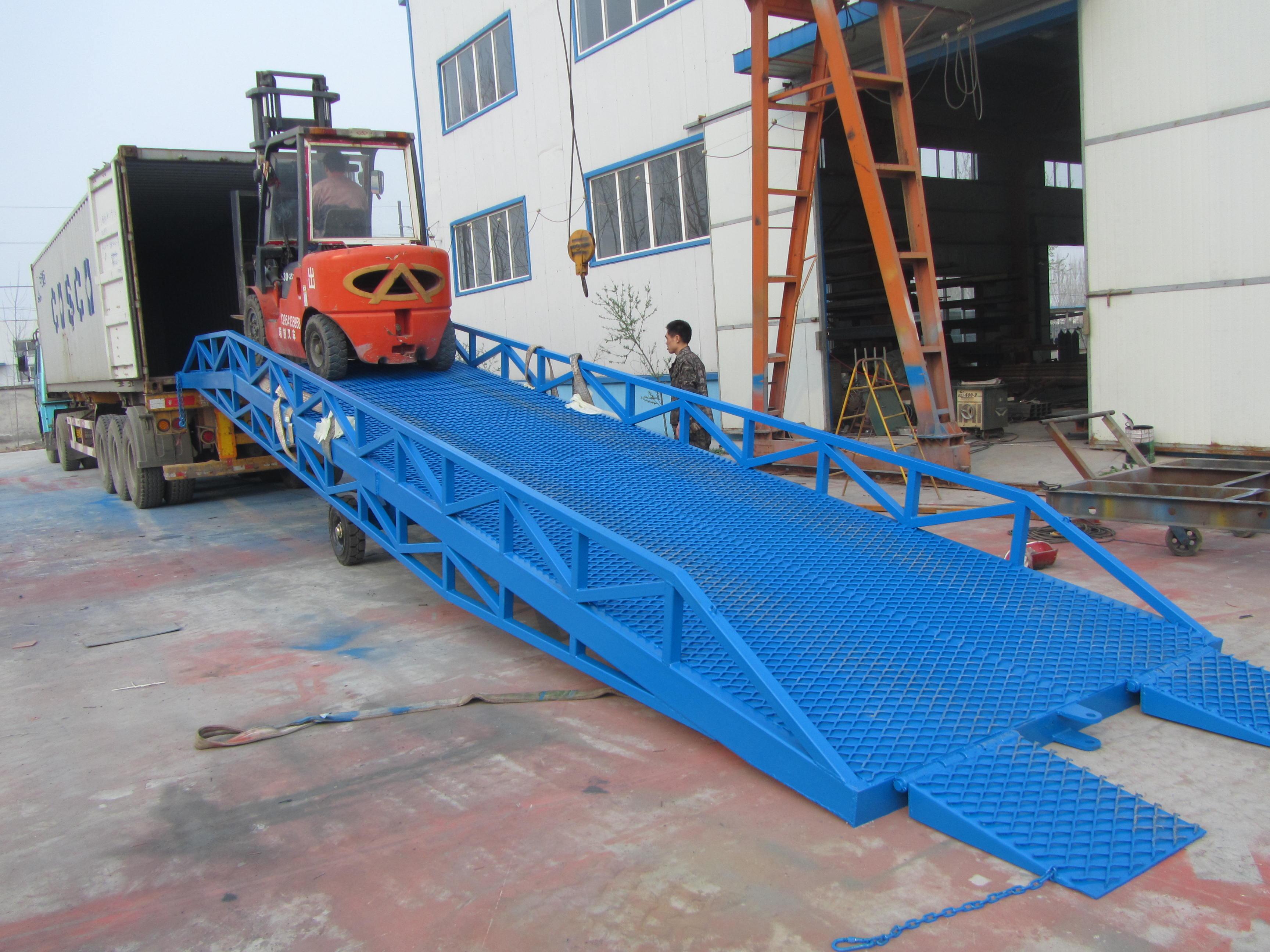 移动液压登车桥