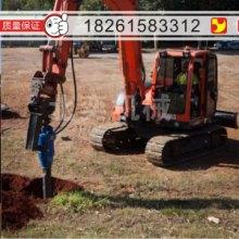 装载机改装螺旋钻机厂家生产挖机改装长螺旋钻机的工程引孔自动钻孔机冲击钻机锚杆钻机批发