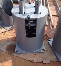 T4.210弹簧支吊架 六角扁螺母 U形耳子  双孔短管夹  T型管托生产厂家