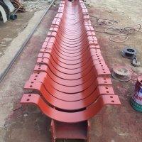 供應用于電廠的可變碟簧支吊架 加筋焊管座 導向管托 滑動管托價格 批發高壓減震管托生產廠家圖片