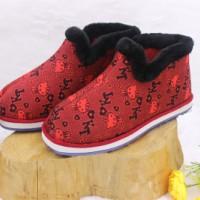 老北京瓦片棉鞋中老年爆款防滑保暖