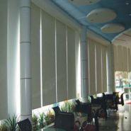 上海乐朗办公室手动拉珠卷帘图片