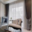 上海乐朗别墅电动开合帘图片