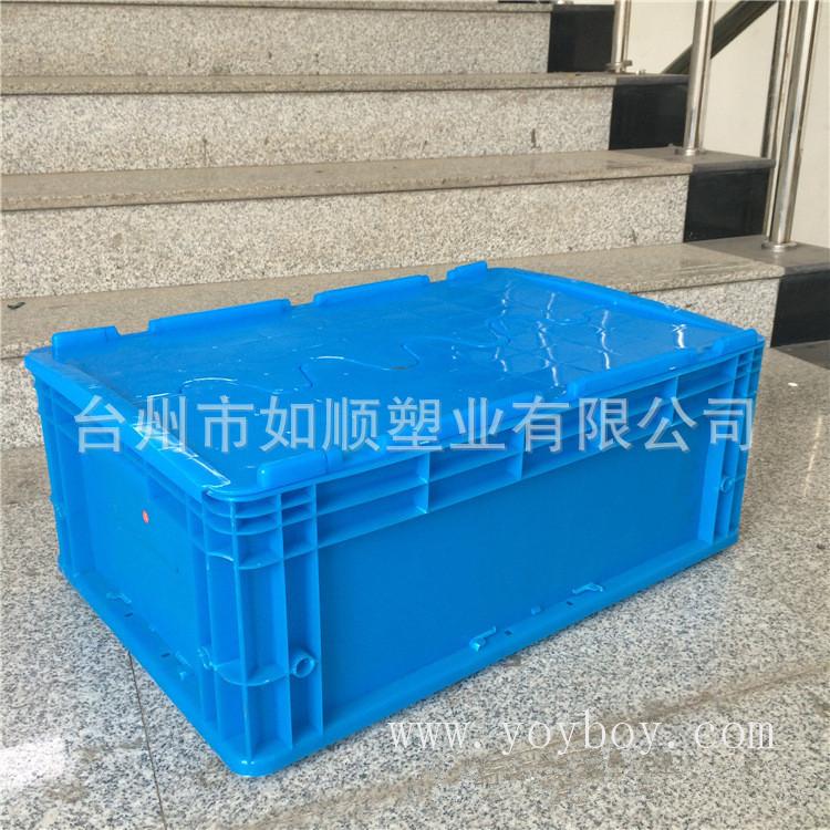 厂家生产 600-230塑料胶框周转箱 大号塑料周转箱