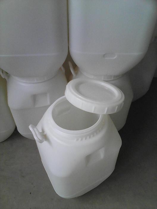 蜂蜜专用50升大口方形塑料桶