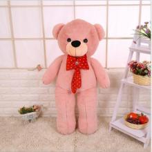 厂家直销领结熊泰迪熊大号抱枕熊公仔毛绒玩具女生礼物布娃娃玩偶