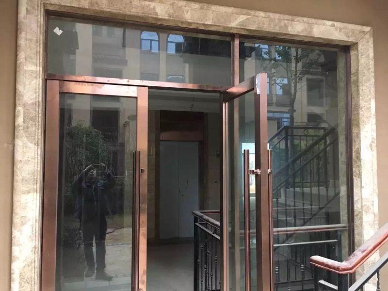 厂家直供不锈钢装饰门框门套 201 304门框 玫瑰金边框