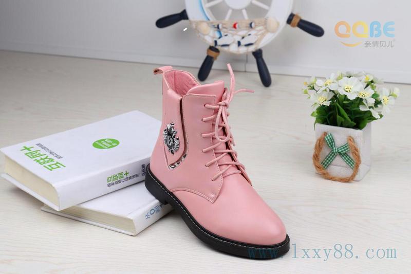供应2015年冬季新款真皮童靴