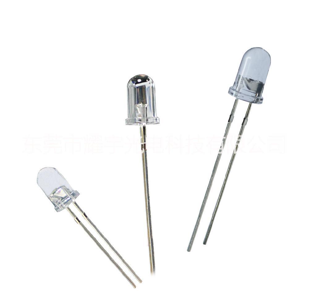 圆头白光直插灯珠LED发光二极管